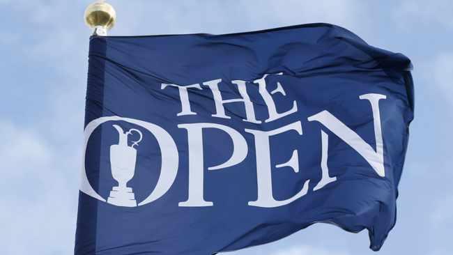 Open Championship Flag