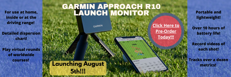 Garmin Approach R10 Banner