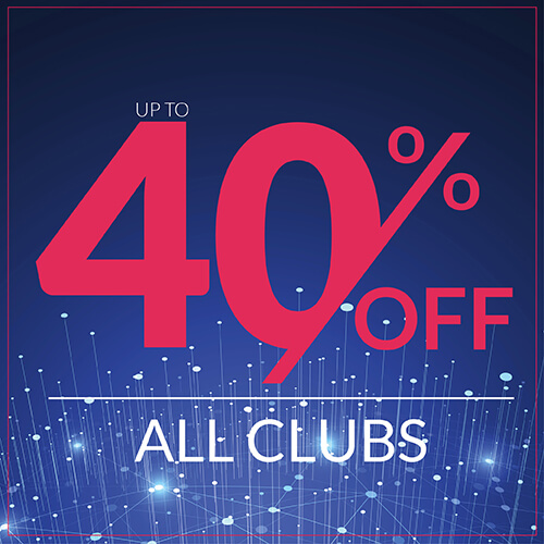 Up To 40% Off Clubs