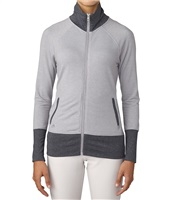 Adidas Womens Rib Knit Jacket Grey Heather 2016