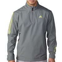 Adidas Gore-Tex 2-Layer Half Zip Waterproof Jacket Vista Grey/Green 2016