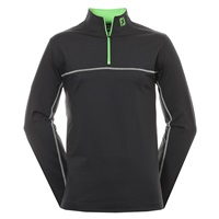 FootJoy Jersey Chill Out Xtreme Pullover Black/Green/White 2016