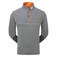 FootJoy Jersey Chill Out Xtreme Pullover Grey/Orange 2016