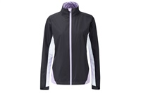 Ping Womens Avery Waterproof Jacket Black Multi 2016