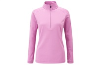 Ping Womens Carmel Half Zip Top Berry Marl 2016