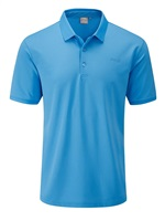 Ping Phoenix Tour Polo Shirt Malibu Blue 2016