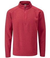 Ping Kelvin Half Zip Top Rich Red Marl 2018