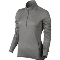 Nike Golf Womens Thermal Half-Zip Pullover Dark Grey/Heather/Grey 2016