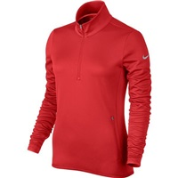 Nike Golf Womens Thermal Half-Zip Pullover Light Crimson/Grey 2016