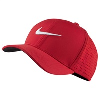 Nike Golf Classic99 Performance Golf Cap University Red/White 2016