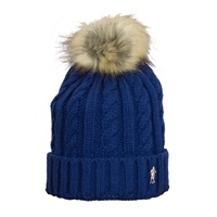 Golf 2 Golf Womens Bobble Hat Navy 2016