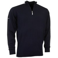 Greg Norman Merino Lined 1/4 Zip-Neck Pullover Navy 2016