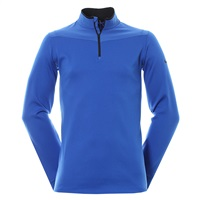 Nike Golf Dri-FIT Half Zip Long Sleeve Top Sweater Pullover Game Royal/Black 2016
