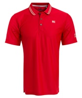 Cutter & Buck Dry Tech Polo Shirt Red/Silver