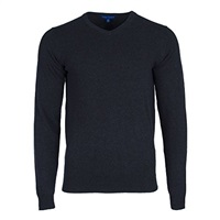 PGA Core V-Neck Jumper Dark Heather Grey 2016