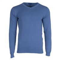 PGA Core V-Neck Jumper Troon Blue 2016