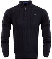 Calvin Klein Golf Mini Cable Knit Sweater Navy 2016
