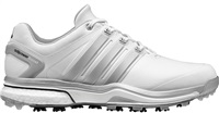 Adidas Adipower Boost 2 Golf Shoes White/Silver