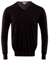 Calvin Klein Golf V-Neck Sweater Black 2016