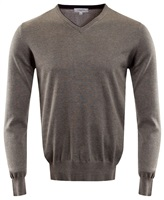 Calvin Klein Golf V-Neck Sweater Grey Marl 2016
