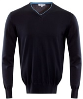 Calvin Klein Golf V-Neck Sweater Navy 2016