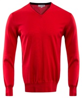 Calvin Klein Golf V-Neck Sweater Red 2016