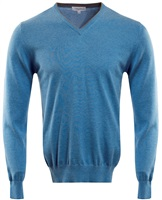Calvin Klein Golf V-Neck Sweater Sky Blue 2016