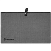 TaylorMade Microfiber Cart Towel Grey 2017