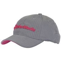 TaylorMade Ladies Radar Hat Grey/Pink 2017