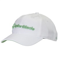 TaylorMade Ladies Radar Hat White/Green 2017
