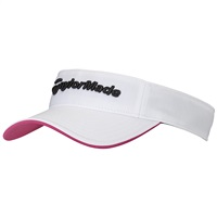 TaylorMade Ladies Radar Visor White/Pink 2017