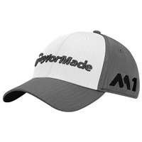 TaylorMade Tour Radar Hat Grey/White 2017