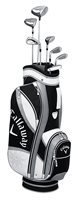 Callaway Womens Solaire Gems Black Set RH