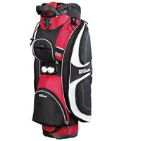 Wilson PROSTAFF Cart Bag Red