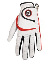 FootJoy Junior Golf Glove White Red