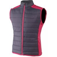 FootJoy Ladies Hybrid Vest Charcoal Berry