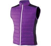 FootJoy Ladies Hybrid Vest Violet Black