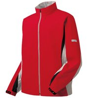 FootJoy Hydrolite Waterproof Jacket Red Grey