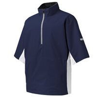 FootJoy Hydrolite Short Sleeve Rain Shirt Navy White Black