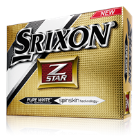 Srixon Z-Star Pure White Golf Balls