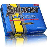 Srixon AD333 Golf Balls Yellow