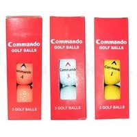 Penfold Commando Golf Balls 3 Pack Sleeve
