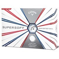 Callaway Supersoft 2019 Golf Balls Dozen White