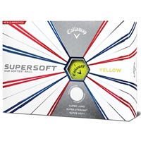 Callaway Supersoft 2019 Yellow Golf Balls