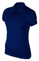 Nike Golf Ladies Victory Solid Polo Shirt College Navy/White 2017