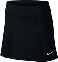 Nike Golf Ladies Solid Knit Skort Black/Metallic Silver 2017