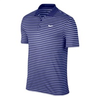 Nike Golf Golf Victory Mini Stripe Polo Navy/White 2017