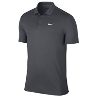Nike Golf Victory Solid LC Polo Dark Grey/White 2017