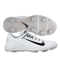 Nike Golf Lunar Command 2 Golf Shoes White/Black 2017