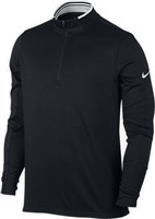 Nike Golf Dry Half-Zip Top Black/White/White 2017